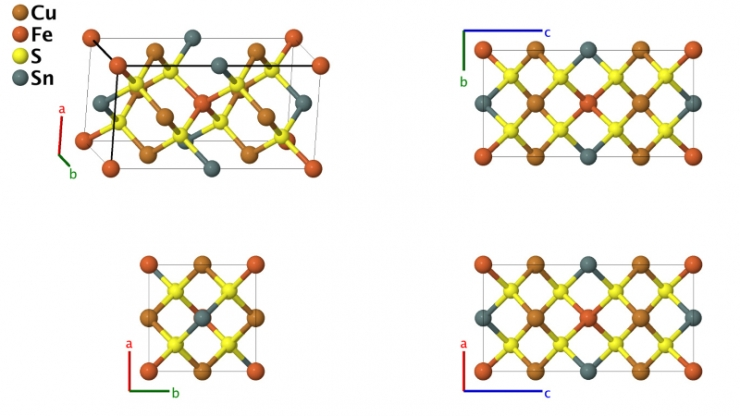 One example of the sorts of 3-D crystalline structures included in a relaunch of Crystal Lattice Structures, a venerable online cookbook for chemists