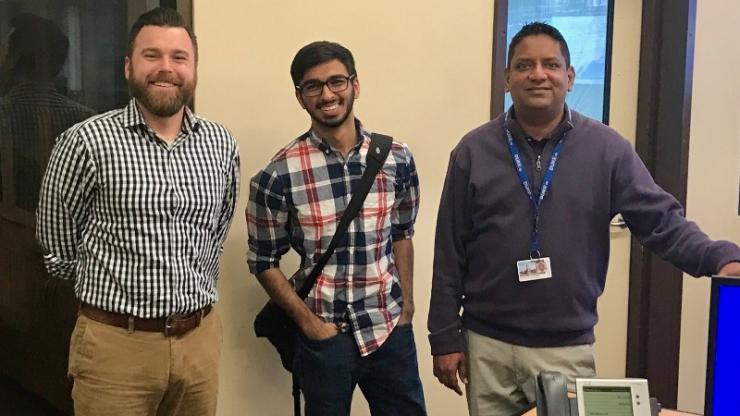 Casey Collins, Anuj Thakkar, Abhishek Bathula