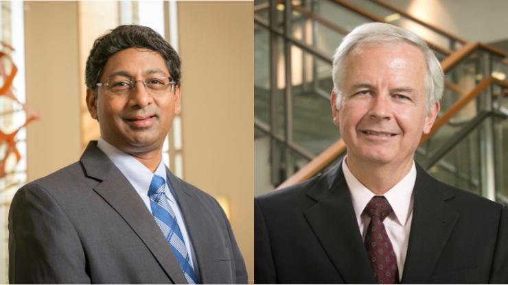 Ravi Bellamkonda (left) and George Truskey (right)