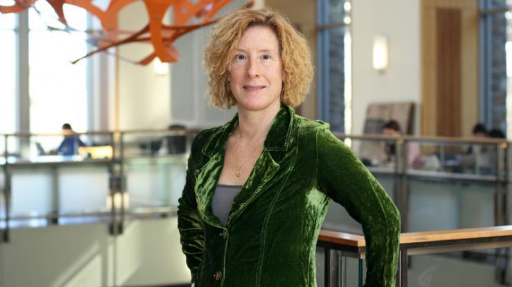 Catherine Brinson in the Duke Fitzpatrick Center