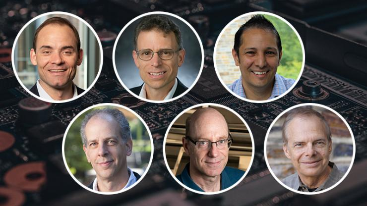 Charles Gersbach, David Mitzi, Willie Padilla, Guillermo Sapiro, David Smith, Mark Wiesner