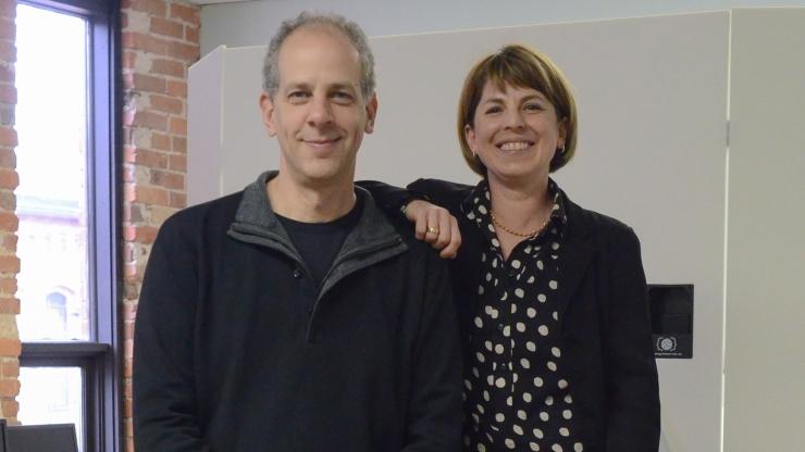 Guillermo Sapiro and Dr. Helen Egger