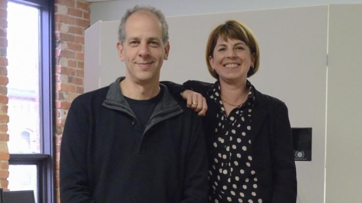 Guillermo Sapiro and Helen Egger