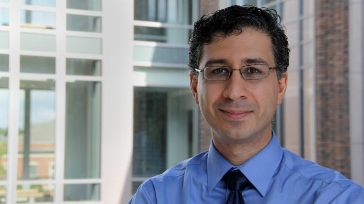 BME's Sina Fasiu was recently recognized for his work as a senior area editor
