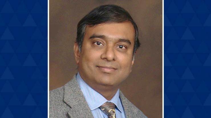 Krishnendu Chakrabarty, the new chair of the Department of Electrical and Computer Engineering