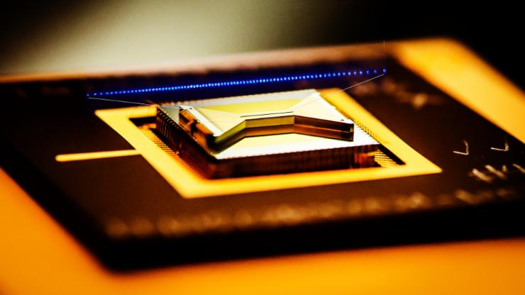 ion trap closeup