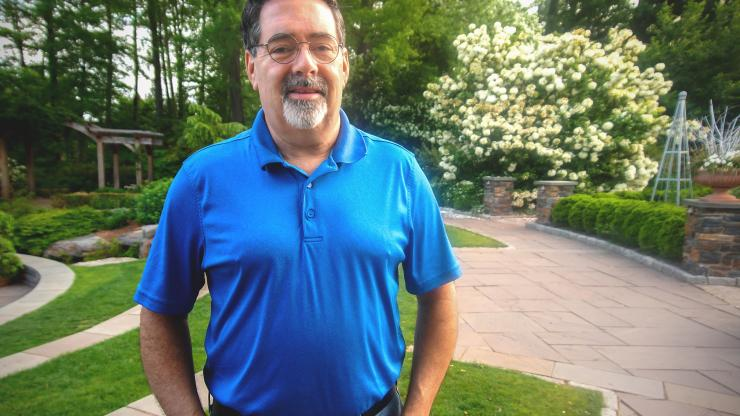 Kevin Caves, biomedical engineering instructor at Duke University.