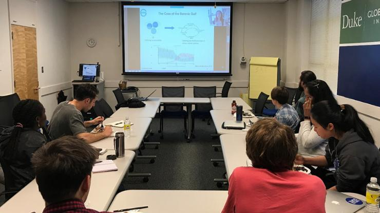 Graduate students learn system dynamics