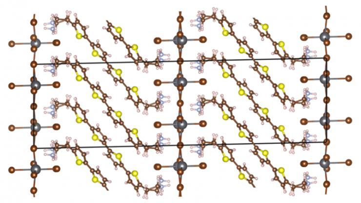 molecular diagram illustration