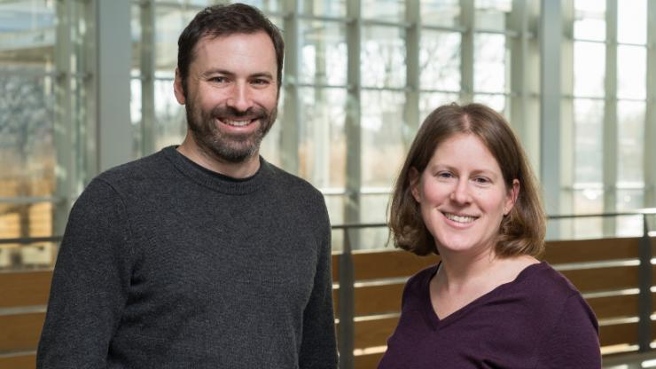 Christine Payne and Scott McKinley