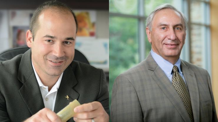 Matthew Becker (left) and Michael Rubinstein (right)
