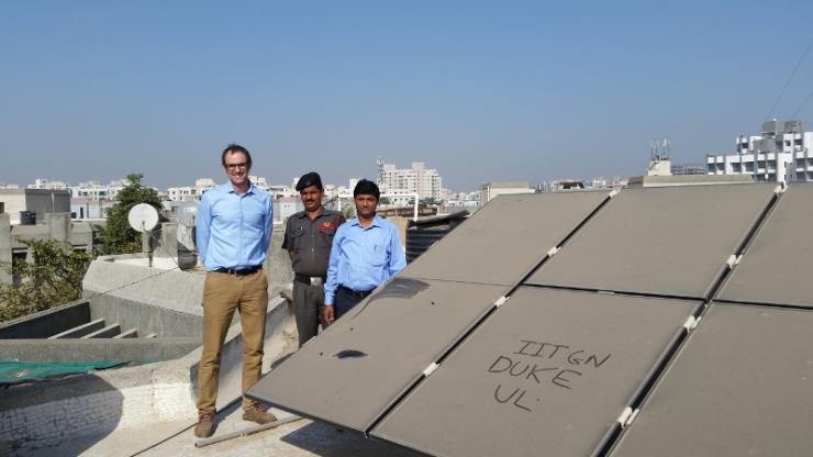 dirty solar panels with Michael Bergin