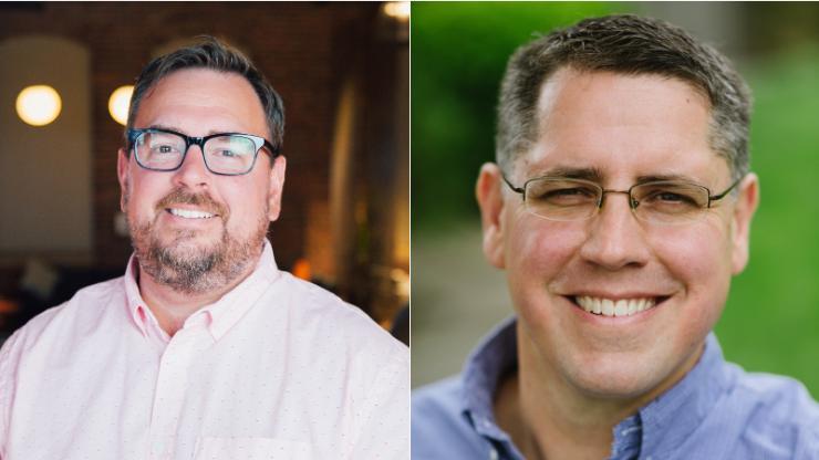 Bill Walker and Steve McClelland headshots