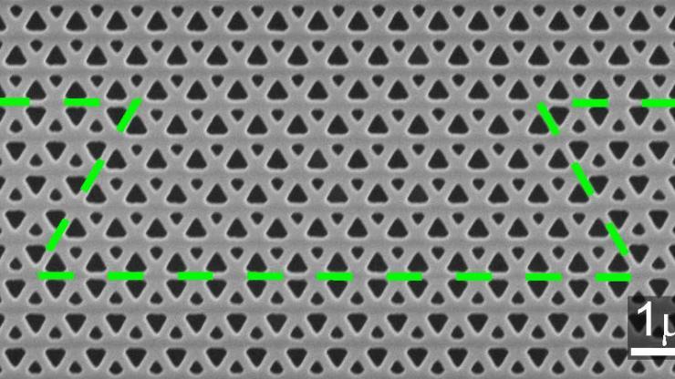 waveguide closeup