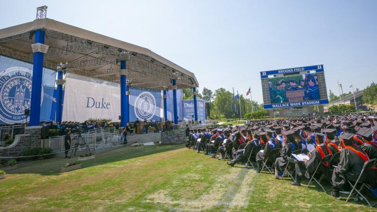 John Pratt Memorial Lecture By Ross >> Duke Engineering Celebrates Class Of 2019 Duke Pratt School Of