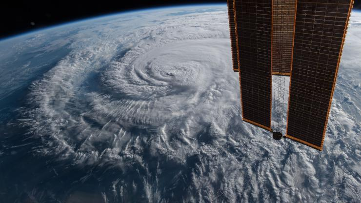 NASA image of Hurricane Florence