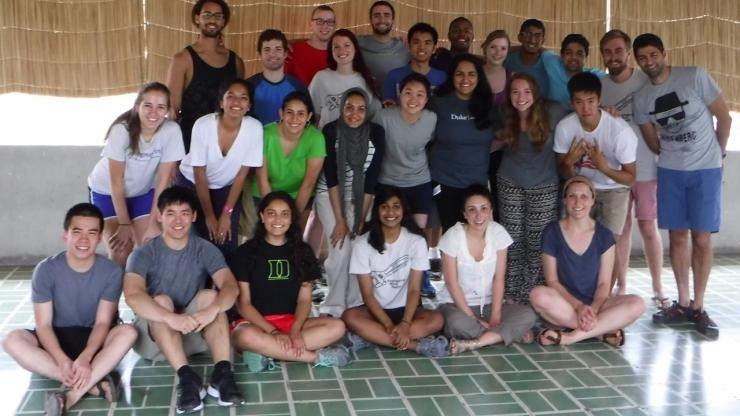 Raina Kishan and the Pocket Colposcope Team