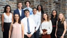 Class of 2023 A. James Clark Scholars at Duke