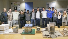 Duke's architectural engineering class