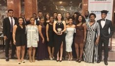 Members of the Duke chapter of the National Society of Black Engineerings won three major awards at the society's 2017 national convention.