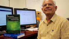 Duke ECE computer reliability and availability expert Kishor Trivedi publishes his fourth textbook