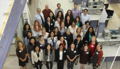 The participants at the annual Women in Aerospace Symposium