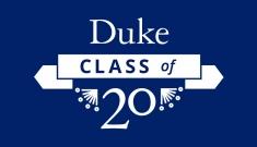 Duke Class of 2020 graphic