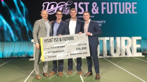 Protect3d team with 1st and Future prize check