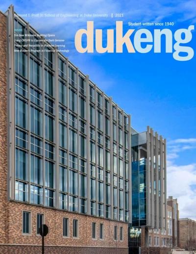 DukEngineer 2021 cover