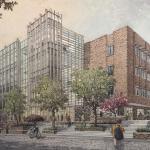 rendering of new building