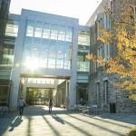 Fitzpatrick Center in fall