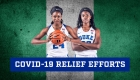 Rising junior Onome Akinbode-James and rising sophomore Jennifer Ezeh
