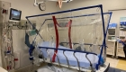 The COVIAGE tent is a portable isolation chamber that protects medical workers treating patients with COVID-19.