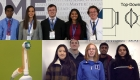 Collage of Duke Engineering students with their medical device designs