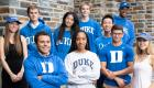 Group photo of the A. James Clark Scholars at Duke University in fall 2018.