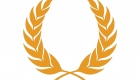 Laurel wreath icon persimmon color