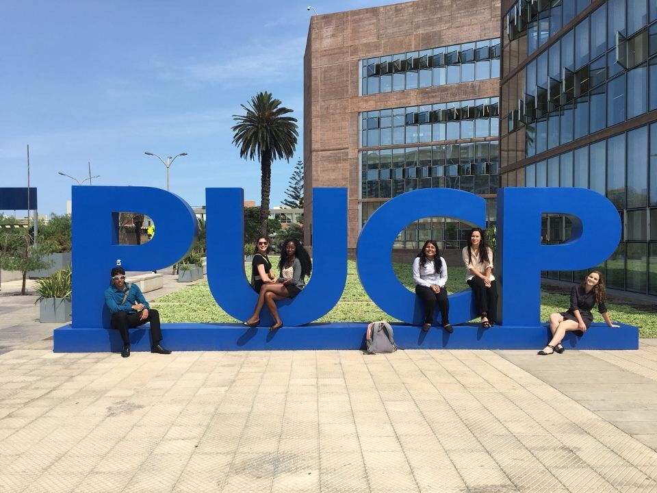 Students visit PUCP in Lima, Peru