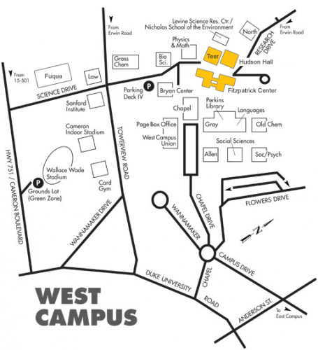 Directions To Duke Engineering Buildings