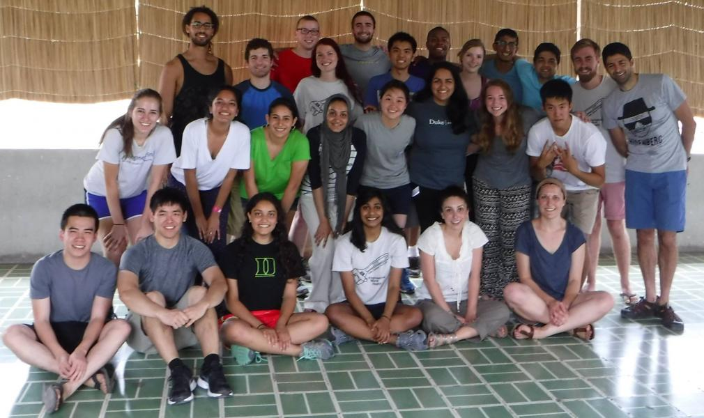 Volunteers through Engineering World Health in Granada, Nicaragua in Summer 2015