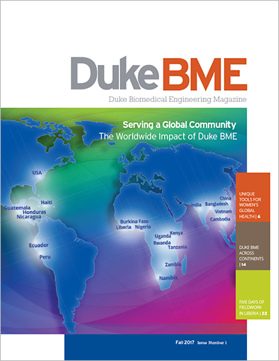Explore the Fall 2017 issue of Duke BME Magazine