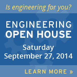 Engineering Open House September 27, 2014