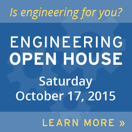 Engineering Open House October 17