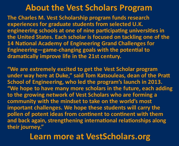 About the Vest Scholars Program