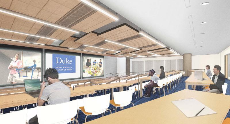 computer rendering of auditorium